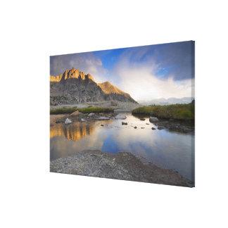 Los E.E.U.U., Colorado, montaña rocosa NP Impresiones En Lona