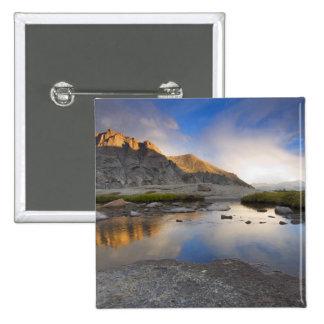 Los E.E.U.U., Colorado, montaña rocosa NP Pin Cuadrada 5 Cm