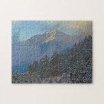 Los E.E.U.U., Colorado, montañas en el parque de Puzzle