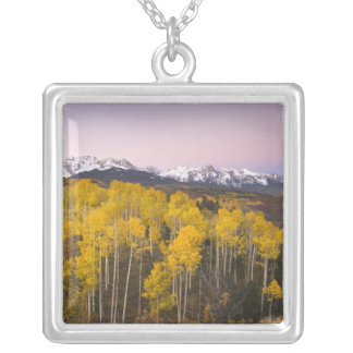 Los E.E.U.U., Colorado, montañas rocosas.  Colgante Cuadrado