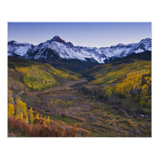 Los E.E.U.U., Colorado, montañas rocosas, San Juan Impresiones