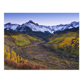 Los E.E.U.U., Colorado, montañas rocosas, San Juan Postales