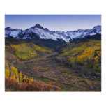 Los E.E.U.U., Colorado, montañas rocosas, San Juan Póster