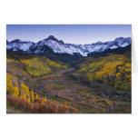 Los E.E.U.U., Colorado, montañas rocosas, San Juan Felicitación