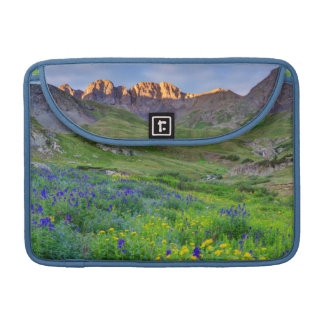 Los E.E.U.U., Colorado. Salida del sol en Funda Macbook Pro