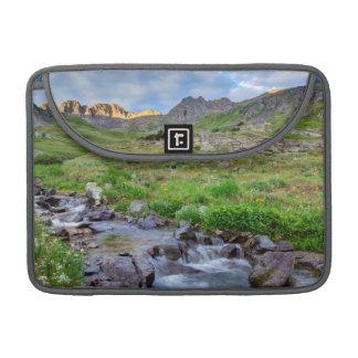 Los E.E.U.U., Colorado. Salida del sol en Fundas Para Macbook Pro