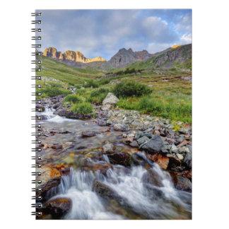 Los E.E.U.U., Colorado. Salida del sol en la Libros De Apuntes