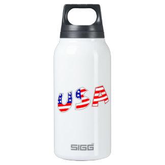 Los E.E.U.U. con el modelo de la bandera americana Botella Isotérmica De Agua