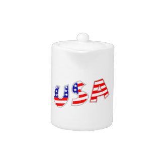 Los E.E.U.U. con el modelo de la bandera americana
