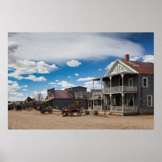 Los E.E.U.U., Dakota del Sur, Stamford, 1880 Póster