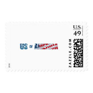 Los E.E.U.U. de América 01 Sello