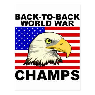 LOS E.E.U.U.:  De nuevo a campeones traseros de la Tarjeta Postal