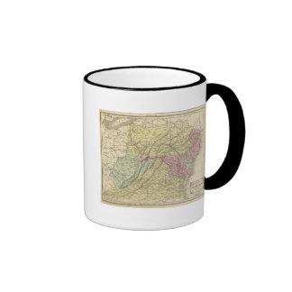Los E E U U del este Tazas De Café