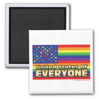 Los E.E.U.U. del imán del arco iris de E
