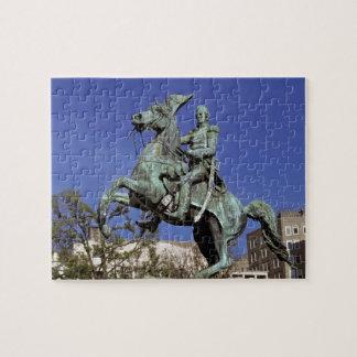 Los E.E.U.U., distrito de Columbia. El triunfantes Puzzle