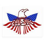 LOS E.E.U.U. EAGLE - AMERICANO ORGULLOSO POSTAL