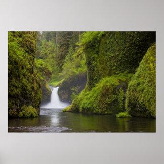 Los E.E.U.U., Eagle Creek, garganta de Columbia, O Póster