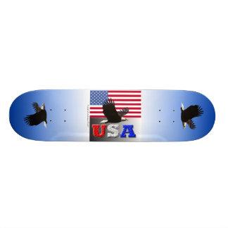 Los E E U U Eagle en vuelo Patín Personalizado