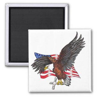 Los E.E.U.U. en dios confiamos en Eagle Imanes Para Frigoríficos