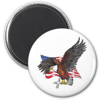 Los E.E.U.U. en dios confiamos en Eagle Iman Para Frigorífico
