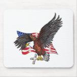 Los E.E.U.U. en dios confiamos en Eagle Tapete De Raton