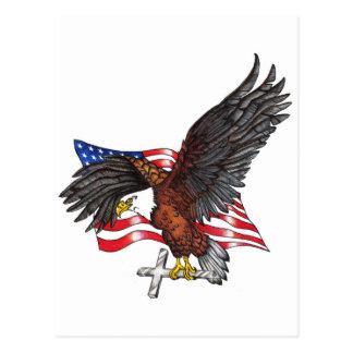 Los E.E.U.U. en dios confiamos en Eagle Postal