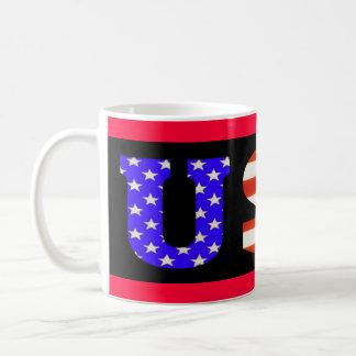 Los E.E.U.U. en la taza negra