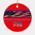 Los E.E.U.U. fuertes Ornamentos De Navidad