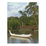 Los E.E.U.U., Hawaii, Kauai, jardín de Luau de la  Tarjeta Postal
