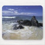 Los E.E.U.U., Hawaii, Maui, Maui, playa de Makena, Alfombrilla De Ratón