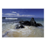 Los E.E.U.U., Hawaii, Maui, Maui, playa de Makena, Impresiones