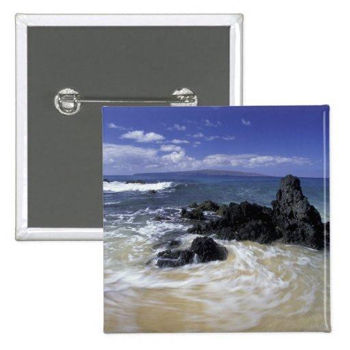 Los E.E.U.U., Hawaii, Maui, Maui, playa de Makena, Pin Cuadrado