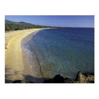 Los E.E.U.U., Hawaii, Maui, Maui, playa de Makena, Postales