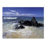 Los E.E.U.U., Hawaii, Maui, Maui, playa de Makena, Postal
