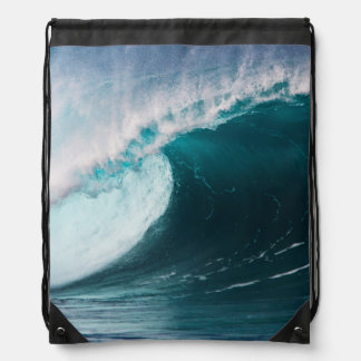 Los E.E.U.U., Hawaii, Oahu, ondas grandes Mochila