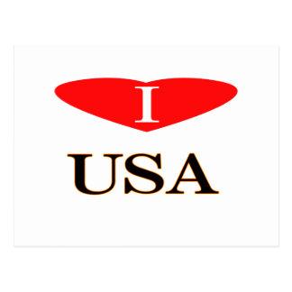 ⅠLos E.E.U.U. heart-3 Postal