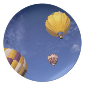 Los E.E.U.U., Idaho, valle de Teton. Globos de air Plato De Cena