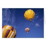 Los E.E.U.U., Idaho, valle de Teton. Globos de air Felicitación