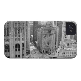 Los E.E.U.U., IL, Chicago, lazo del hotel iPhone 4 Case-Mate Carcasas
