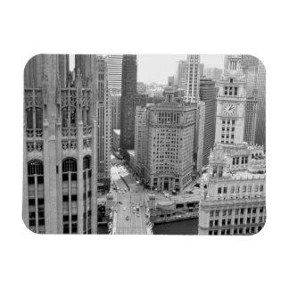 Los E.E.U.U., IL, Chicago, lazo del hotel Imán Rectangular