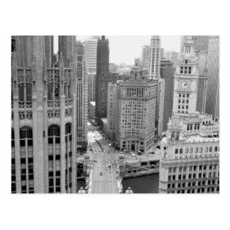 Los E.E.U.U., IL, Chicago, lazo del hotel Postal