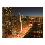 Los E.E.U.U., Illinois, Chicago: El lazo: Edificio Tarjeta Postal