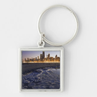 Los E.E.U.U., Illinois, Chicago, horizonte de la c Llavero Personalizado