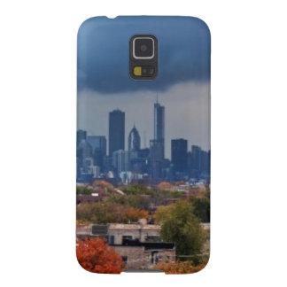 Los E.E.U.U., Illinois, Chicago, paisaje urbano Funda De Galaxy S5