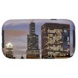 Los E.E.U.U., Illinois, Chicago, rascacielos ilumi Galaxy SIII Coberturas