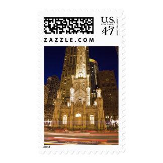 Los E.E.U.U., Illinois, Chicago, torre de agua Sellos Postales