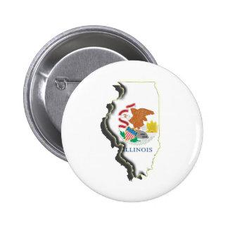 LOS E E U U Illinois Pin