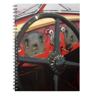 Los E.E.U.U., Indiana, castaña: Castaño, cordón, D Libro De Apuntes Con Espiral