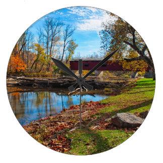 Los E.E.U.U., Indiana, catarata caen Reloj Redondo Grande