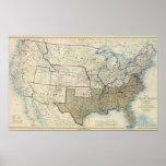 Los E.E.U.U. junio de 1864 Póster